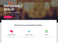 physiowelt.de Webseite Vorschau
