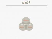 xhibit.de Webseite Vorschau