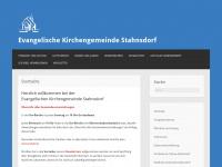 kirchengemeinde-stahnsdorf.de Webseite Vorschau