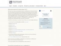 dbdd.de Webseite Vorschau