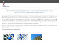thurm-sicherheitstechnik.de Webseite Vorschau
