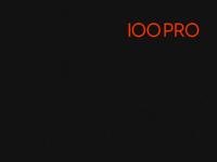 100pro.ch Webseite Vorschau