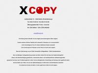 xcopy.de Webseite Vorschau