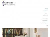 kirche-luebbenau.de Webseite Vorschau