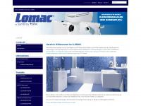 lomac.de Webseite Vorschau