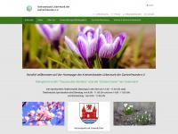 kvu-gartenfreunde.de Webseite Vorschau