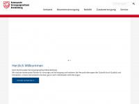 kvbbg.de Webseite Vorschau