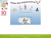 kinderpartyservice-madame-mim.de Webseite Vorschau
