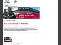kipcke.de Webseite Vorschau