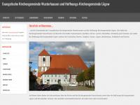kirche-wusterhausen.de Webseite Vorschau