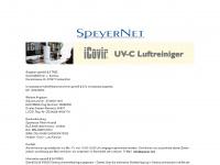 speyer.net Webseite Vorschau