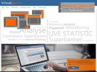 virtualsystem.de Webseite Vorschau