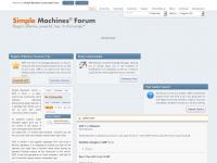 simplemachines.org Webseite Vorschau