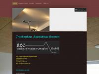 aec-bremen.de Webseite Vorschau