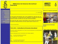 amnesty-papenburg.de Webseite Vorschau