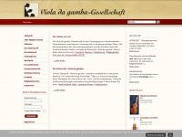 viola-da-gamba.org
