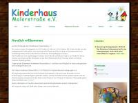 kinderhaus-malerstrasse.de Webseite Vorschau
