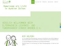 kinderkrebs-bremen.de Webseite Vorschau
