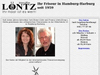 loentz.de Webseite Vorschau