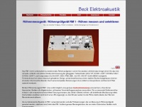 beck-elektroakustik.de