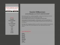 photo-service-shop.de Webseite Vorschau