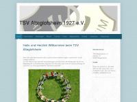 tsv-alteglofsheim.de