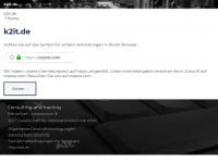 k2it.de Webseite Vorschau