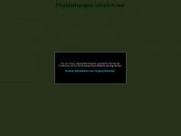 physiotherapie-kram.de Webseite Vorschau