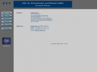 rzp-aktuare.de Webseite Vorschau