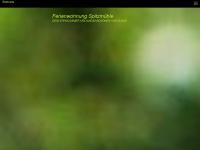 ferienwohnung-spitzmuehle.de Webseite Vorschau