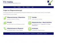 kv-media.de Webseite Vorschau