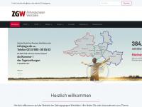 zgw-muenster.de Webseite Vorschau