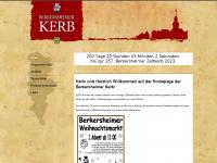 berkersheimer-kerb.de Webseite Vorschau
