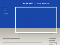 4-print-gmbh.de Webseite Vorschau