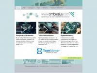ambrosius.com Webseite Vorschau