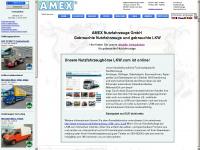amexauto.com Webseite Vorschau