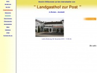 landgasthofzurpostgombeth.de