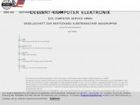 dce.de Webseite Vorschau