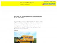 buechel-transporte.de Webseite Vorschau