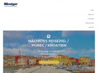 wanninger-reisen.de Webseite Vorschau