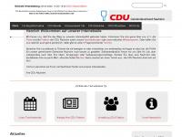 cdu-nauheim.de Webseite Vorschau