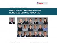 cdu-neuental.de Webseite Vorschau