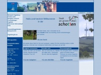 tourist-schotten.de Webseite Vorschau