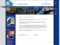 acron.ch Webseite Vorschau