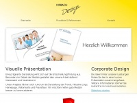 kirbach-design.de Webseite Vorschau
