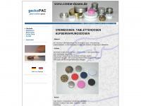 creme-dosen.de Webseite Vorschau