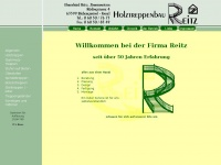 treppenbau-reitz.de Webseite Vorschau