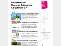 bvdg.de Webseite Vorschau