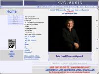 kvg-music.de Webseite Vorschau