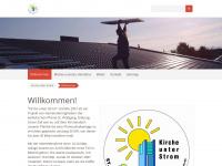 kirche-unter-strom.de Webseite Vorschau